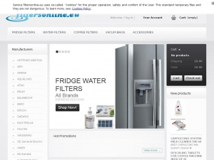 Internal fridge and refrigerator water filters